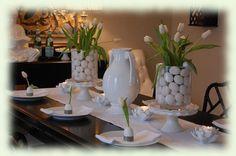 Pääsiäispöytä - pääsiäiskattaus