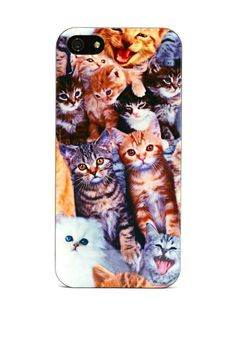 Cat Call iPhone 5 Case