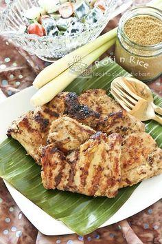 Grilled Masala Lemongrass Chicken