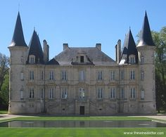 Château Pichon-Baron in all its glory, March 2011