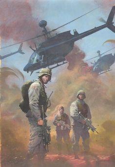 Esad Ribic ( Combat Zone: True Tales of GIs in Iraq #1 ) *