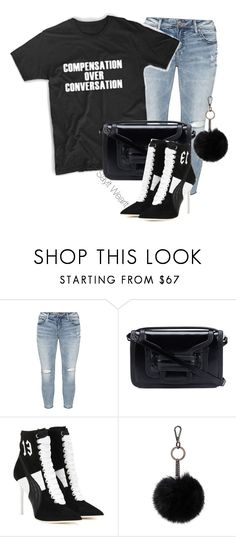"""""""Compensation over Conversation"""" by sayitwearit on Polyvore featuring Silver Jeans Co., Pierre Hardy, Puma and Soia & Kyo"""