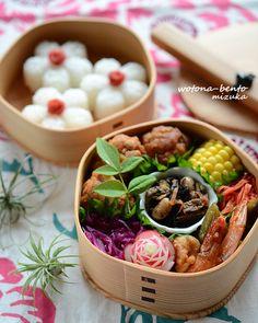 6/24 丸め豚肉のケチャップマリネの花金弁当