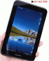 Samsung  COMPARE IMAGES OS : Android 4.0 (ICS) Physical size : 7 inches Resolution : 1024 x 600 pixels Battery Capacity : 4.000 MAh Processor: : 1 GHz Dual-Core Camera: Primary : 3 MP Front ...
