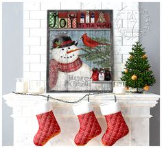Christmas Wall Art Canvas Christmas Wall Art Canvas, Canvas Wall Art, Canvas Prints, Joy To The World, Canvas Material, Cotton Canvas, Christmas Stockings, Snowman, Holiday Decor