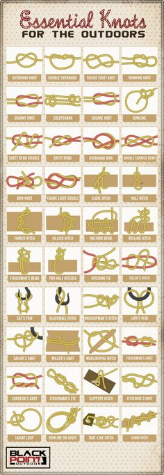Basic knots you should know.