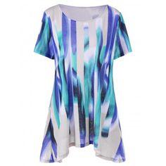 GET $50 NOW   Join Dresslily: Get YOUR $50 NOW!http://m.dresslily.com/plus-size-long-ombre-swing-t-shirt-product2010566.html?seid=O426A1dChCnjMIvQ7bASn6E0CG