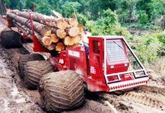 Intelligent Technology Mega Machines Unusual Forestry Timber Transportation Woodwork Saw Sawmill CNC Logging Equipment, Heavy Equipment, Big Rig Trucks, Cool Trucks, Explorer Truck, Truck Transport, Tractor Pulling, Heavy Machinery, Heavy Truck