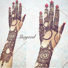 Latest 51 Beautiful Arabic Mehandi designs for Hands Mehandi Design For Hand, Khafif Mehndi Design, Floral Henna Designs, Stylish Mehndi Designs, Mehndi Designs 2018, Mehndi Design Pictures, Wedding Mehndi Designs, Dulhan Mehndi Designs, Beautiful Mehndi Design