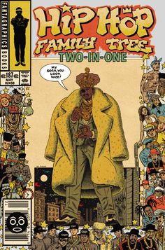 """Hip-Hop Family Tree - Pesquisa Google"" Doesn't look like Rick The Ruler (or anyone), but it's still dope w/the other artists & a line from my fave Slick Rick song."