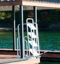 5 Step Wet Steps Dock Ladders Dock Stairs Pinterest