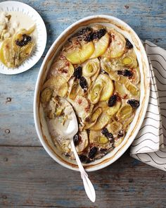 Leek, Potato, and Morel Gratin Recipe -- a rich, magnificent dish that's perfect for an Easter brunch