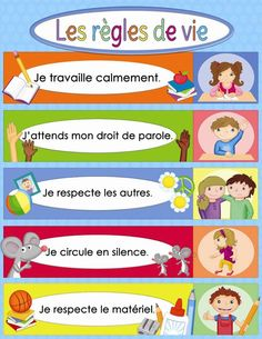 French Language Lessons, French Language Learning, French Lessons, French Teaching Resources, Teaching French, French Classroom, Classroom Rules, French Education, Kids Education