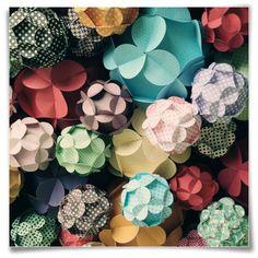 Bolas de papel - Abê Studio Criativo