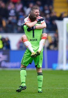 Bastian Schweinsteiger & Manuel Neuer