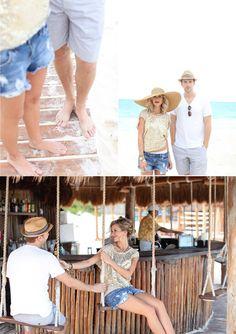 swing set bar?!? yes please! (@ Secrets, Maroma Beach Riviera Cancun)