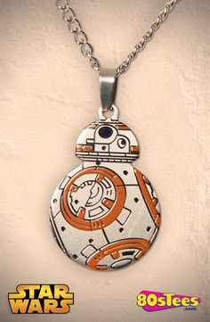 Star Wars BB-8 Pendant: Star Wars Jewelry
