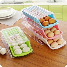 Refrigerator Drawer Type #Egg Storage Box 2015 New Arrival Easy To Pick Up Eggs Fresh Storage Shelf Kitchen Cleaning Organizer From Zph942015, $35.52   Dhgate.Com