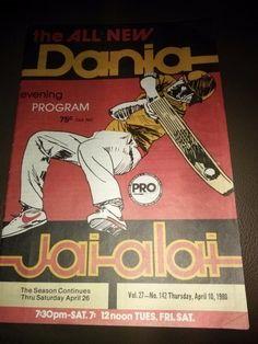 Dania Jai Alai Program April 10, 1980 Vol. 27-No. 142 | #1730401046