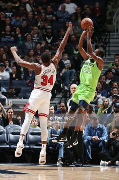 848dca695 Andrew Wiggins  22 of the Minnesota Timberwolves shoots the ball against  the Chicago Bulls on