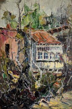 მთავარი :: ნახატები :: Old Tbilisi Original Art, Original Paintings, Impressionism Art, Nature Paintings, Artist Painting, Paintings For Sale, Online Art Gallery, Buy Art, Saatchi Art