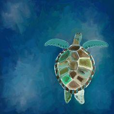 Sea Turtle Decor, Sea Turtle Art, Sea Turtles, Canvas Artwork, Canvas Wall Art, Canvas Prints, Canvas Paintings, Mini Paintings, Diy Canvas