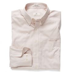 """As the original shirtmakers since 1949, the GANT Diamond G Pinpoint Oxford Shirt is a true emblem of our rich shirtmaking heritage. In fact, the discreetly embroidered """"G"""" on the chest stands for the epitome of quality, a design detail that's synonymous with GANT. Purposely sewn with more stitches per inch to create a thin and delicate hand feel (hence the word """"pinpoint""""), it features a fused, button-down collar for a trim and tidy vibe plus a regular fit, making it entirely up to you how…"""