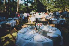 A laid-back summer bbq wedding on a farm by Carina Skrobecki - Wedding Party