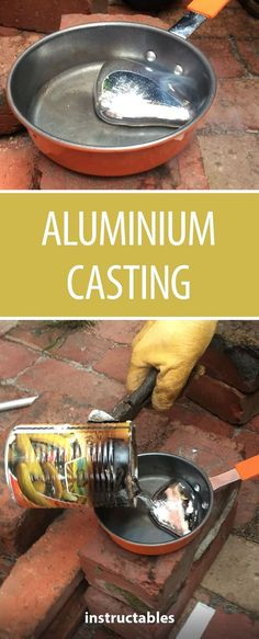 DIY Aluminium Melting This is how you cast aluminium (aluminum) on a budget and a small timescale. The post DIY Aluminium Melting appeared first on Metal Diy. Aluminum Can Crafts, Metal Crafts, Diy And Crafts, Decor Crafts, Casting Aluminum, Metal Casting, Metal Projects, Welding Projects, Diy Welding