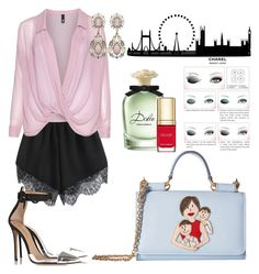 """Без названия #25"" by mashulya-bobkova ❤ liked on Polyvore featuring Manon Baptiste, Dolce&Gabbana and Chanel"