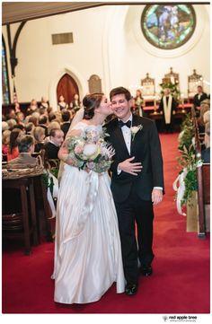 red apple tree photography: 4th Presbyterian Church & Certus Loft Huguenot Mill Wedding with Erin + Robrt