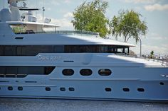 Casino Royal  163 foot long  $42 million dollar yacht   4 Levels  6 staterooms w/private bathrooms  Owner David McDonald  Retired Fresno CEO and business owner  Builder: John Staluppi  The Casino Royal is his largest and most ornate.    A $42 million dollar ya http://hbb6.com/Casino