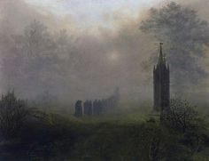 Oehme, Procession In The Fog.