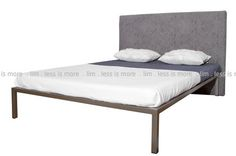 - - Husky gold bronze epoxy coated mild steel STD Queen bed frame and headboard ( Excluding mattress) Decor, Furniture, Room, Mattress, Home Decor, Epoxy Coating, Bed, Headboard, Bed Frame
