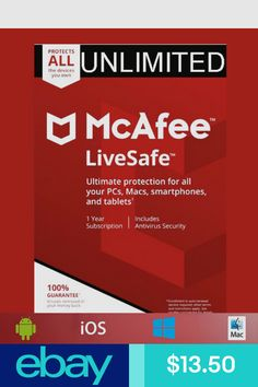 McAfee 2018 AntiVirus - 1 PC [OLD VERSION] | Software