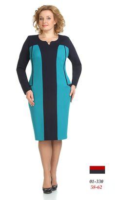 "платье - Элтрига-330 - белорусский интернет магазин ""Анабель"". Plus Size Dresses, Plus Size Outfits, Dresses For Work, Office Fashion, Business Fashion, Curvy Fashion, Plus Size Fashion, Hijab Fashion, Fashion Dresses"