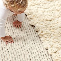 Rope Rug / Serena & Lily. Durable and so comfy for babies.