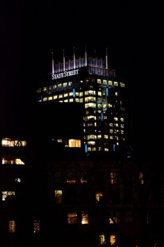 Downtown Boston...the new State St. tower.
