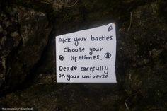 Pick Your Battles by Rhiallom.deviantart.com on @DeviantArt