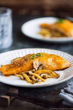 Baked Salmon Recipes, Veggie Recipes, Asian Recipes, Whole Food Recipes, Vegetarian Recipes, Vegetarian Barbecue, Asian Foods, Vegetarian Cooking, Veggie Food