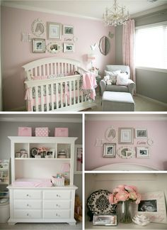 gray and pink - loved the frames and the boxes