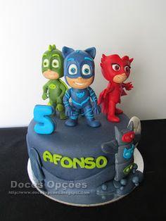 Doces Opções: Os PJ Masks foram ao 5º aniversário do Afonso