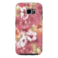 Chic Colorful Flower Pattern Watercolor Painting Samsung Galaxy S6 Case - modern gifts cyo gift ideas personalize