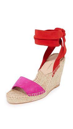 Amazon.com: LOEFFLER RANDALL Women's Harper Espadrille Wedge Sandal: Shoes
