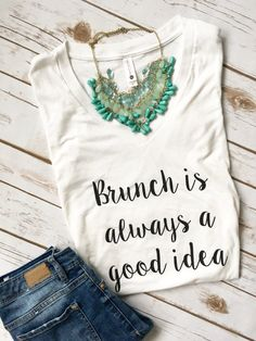 Brunch is always a good idea - Brunch shirt - Foodie Shirt - Mimosa Shirt - Mimosas Shirt - Brunch So Hard - Champagne Shirt - Brunch Tee by RightHereatHome on Etsy https://www.etsy.com/listing/501543831/brunch-is-always-a-good-idea-brunch
