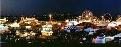 Skyline of the Utah State Fair.