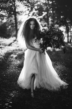 That that's............a bouquet! Photographer: Photographer: Joel Bedford // Agfa Scala 200 - joelbedfordweddings.ca #lookslikefilm #bw