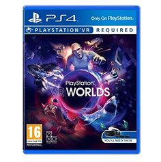 PlayStation VR Worlds Playstation 4 UK Import Region Free -- For more information, visit image link. Note:It is Affiliate Link to Amazon.