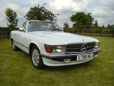 '85 Mercedes 500 SL