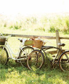 Bicicletas y merienda en el campo | Bikes and country lunch